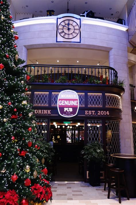 Review Of Quantum Of The Seas Michael's Genuine Pub