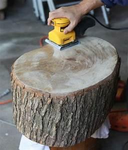 Möbel Stump : diy tree stump table ideas how to make them holz ~ Pilothousefishingboats.com Haus und Dekorationen