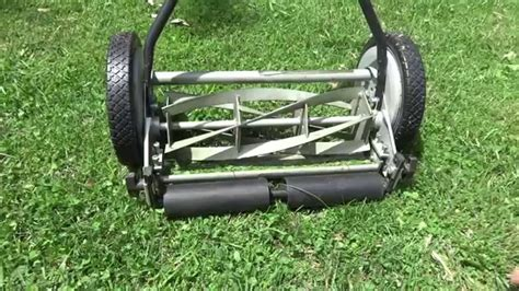 great states   manual reel mower review youtube