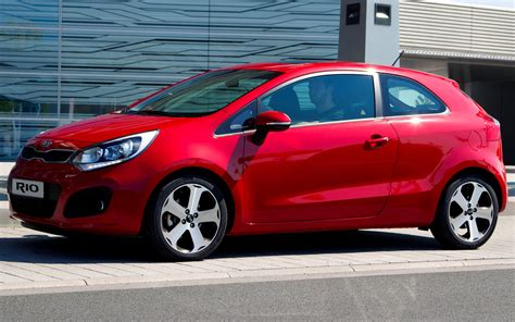 kia rio  door  wallpapers  hd images car pixel