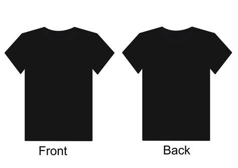 Black Shirt Template View T Shirt Template