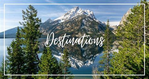 destinations itineraries bucket list