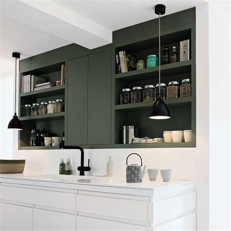 cuisine mur noir aménagement cuisine la cuisine