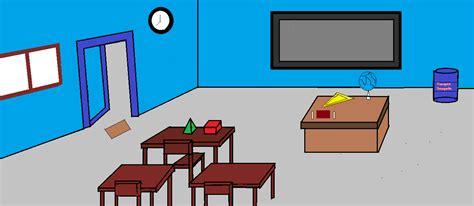ide background ruangan kelas animasi house  street