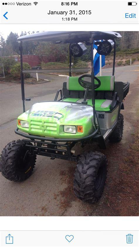 custom seahawks golf cart  sale  woodinville wa offerup