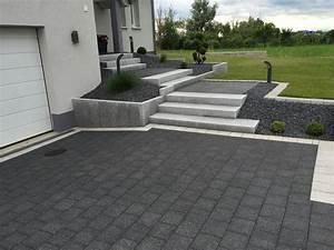 amenagement creation de terrasse de jardin dans le bas With amenagement terrasse et jardin