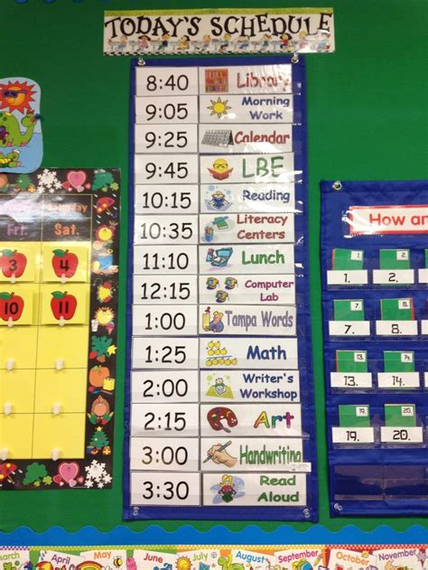 daily schedule ideas for pre k mrs s classroom 140 | daily 3
