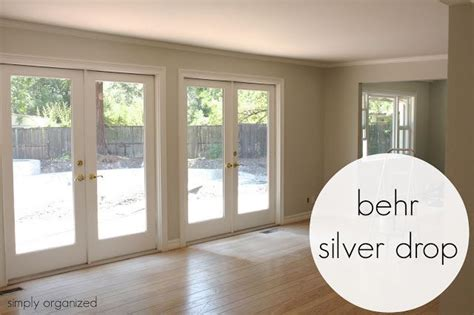 silver drop by behr home style paint pinterest
