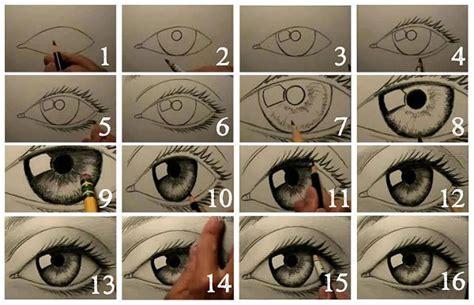 Aprende Cómo Dibujar Ojos Paso A Paso: Estilos Diferentes