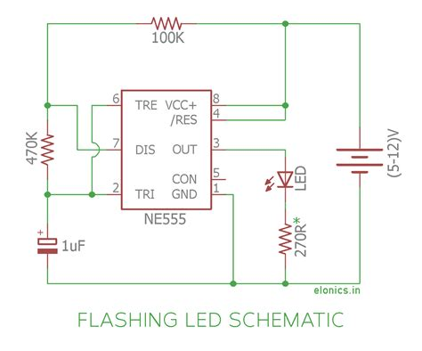 Combined Dimming Circuit With Blinking