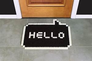 paillasson original tapis d39entree de bureau kolloricom With tapis porte d entrée original
