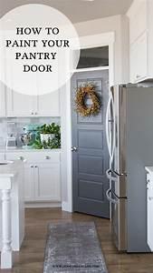 Pantry Door Makeover HoneyBear Lane