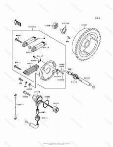Kawasaki Jet Ski 1995 Oem Parts Diagram For Generator