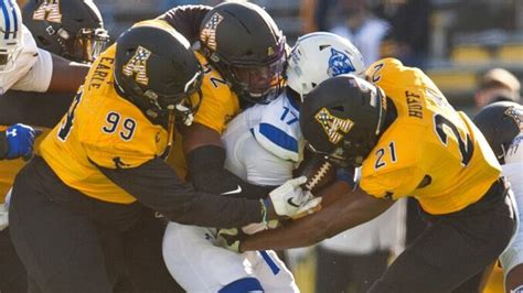 Mountaineers ready for showdown with No. 15 Coastal ...