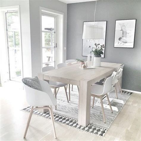 Esszimmer Weiß Grau by Esszimmer Einrichten 60 Einrichtungsideen Und Beispiele