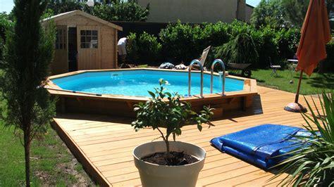 poseur de cuisine merveilleux amenagement autour d une piscine hors sol 8