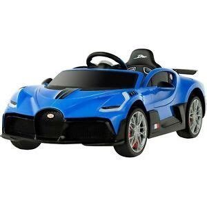 The car is named after french racing driver albert divo. Kids Ride On Car 12V Licensed Bugatti Divo Electric Car ...
