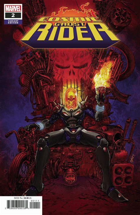 cosmic ghost rider vol    punisher comics