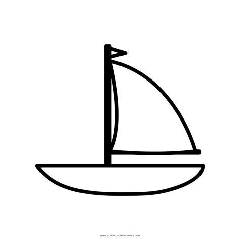 Dibujo Barco De Vela by Dibujo De Barco Para Colorear Ultra Coloring Pages