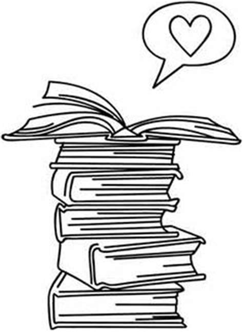 stack of books clip art   of Books Clip Art Image - black and white outline of a stack of books