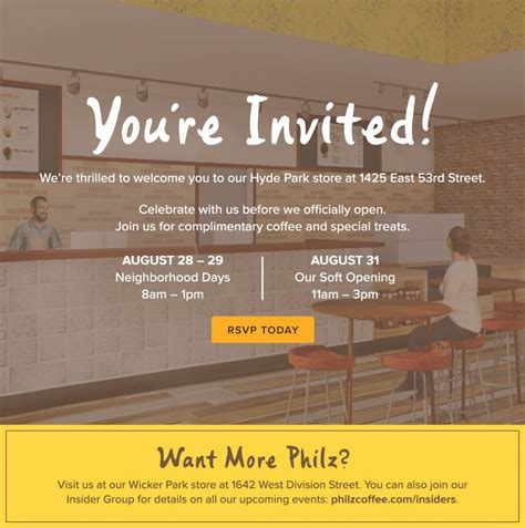 Philz coffee ⭐ , united states, chicago, 2323 north lincoln avenue: Philz Coffee Hyde Park Location to Open on 53rd Street on September 1 - 53rd Street