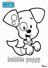 Bubble Guppies Coloring Printable Puppy Character Cartoon Bubakids Bellow Resolutions Many Scaled sketch template