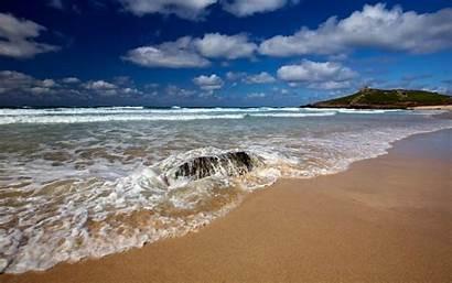 Beach Porthmeor Waves Sands