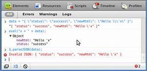 "javascript - jQuery.parseJSON throws ""Invalid JSON"" error ..."