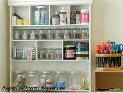 Anyone Can Decorate Craft Room Organizing  Cute Storage Bins