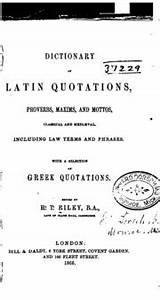 Dictionary of L... Roman Quotable Quotes