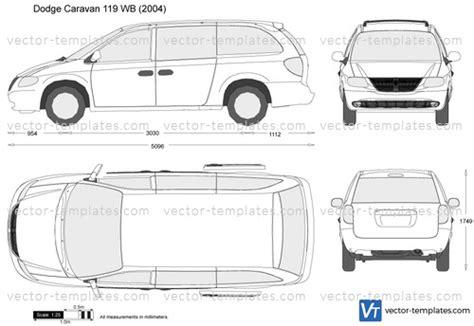 templates cars dodge dodge caravan  wb