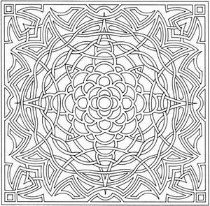 optical illusion coloring page Colouring Pages ...