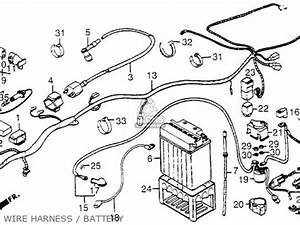 wiring diagram for 1984 honda trx200 1984 honda gl1200 With 1979 honda cb750k wiring diagram