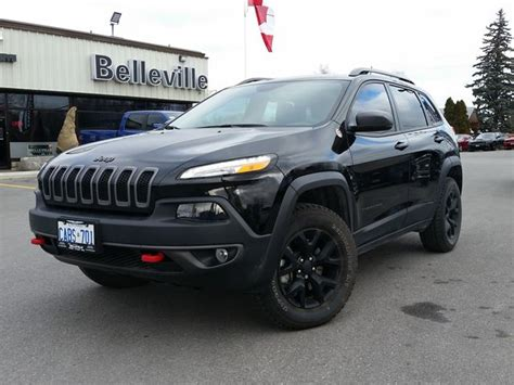 jeep cherokee trailhawk black rims 2016 jeep cherokee trailhawk safety tec group black
