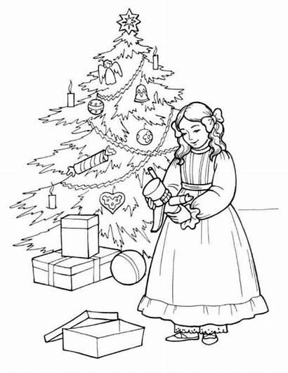Nutcracker Coloring Pages Christmas Printable Clara Barbie