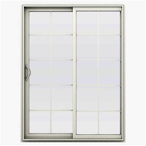 jeld wen sliding patio doors menards jeld wen builders series 10 lite vinyl left sliding