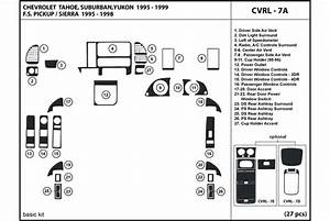 1996 Gmc Yukon Dash Kits