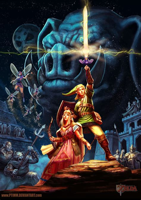 Celebrating 30 Years The Legend Of Zelda Digital Artlords