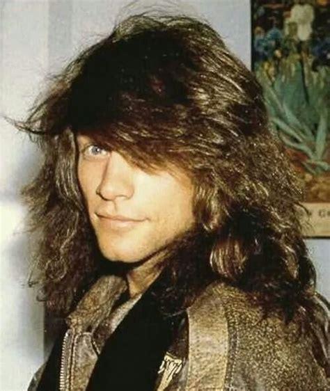 Jon Bon Jovi Late Long Hair Its Natural