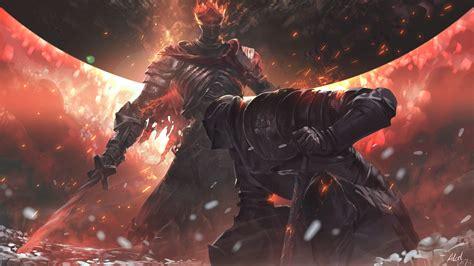 Wallpaper Dark Souls Iii Video Games Rpg Fire Soul