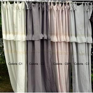 Rideaux En Lin Naturel : rideaux lin lave ~ Dailycaller-alerts.com Idées de Décoration