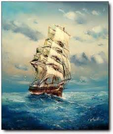 Tall Ship Oil Paintings