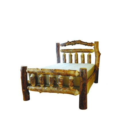 aspen rocky mountain collection bed amish crafted furniture