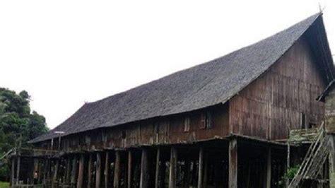 kaltengpedia rumah betang tumbang gagu tertua