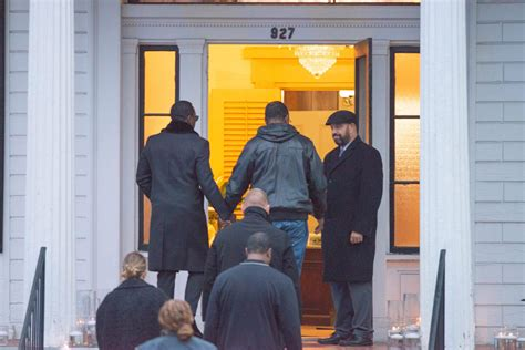 Diddy Arrives At Funeral Home For Tragic Ex Girlfriend Kim