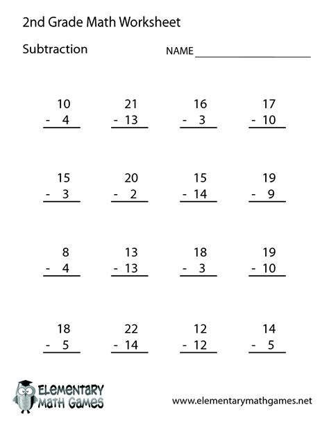 printable worksheets for 2nd grade math breadandhearth