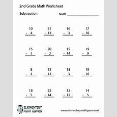 2nd Grade Worksheet Category Page 1 Worksheetocom