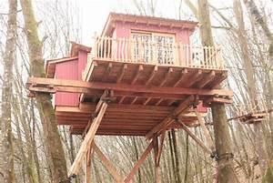 Constructeur Cabane Dans Les Arbres : cabane japonaise nidperch constructeur de cabane ~ Dallasstarsshop.com Idées de Décoration