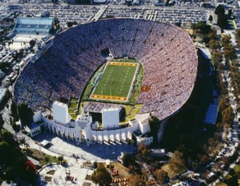 los angeles coliseum history      los