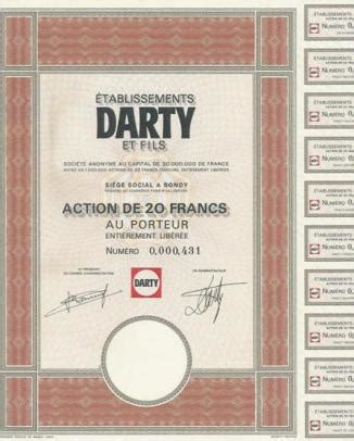 darty siege social etablissements darty et fils